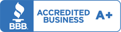 BBB accredited business, rating A+